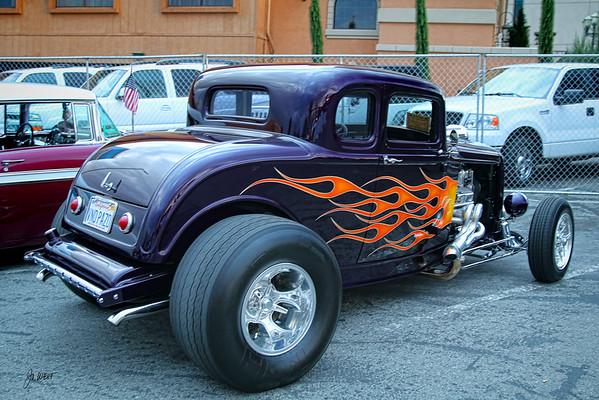 black hot rod